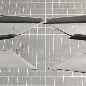 ハセガワ 1/72 MiG-25フォックスバット製作(その3)