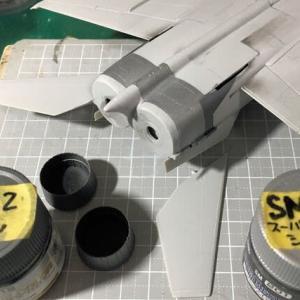 ハセガワ 1/72 MiG-25フォックスバット製作(その4)