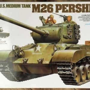 RC可動化 1/35 M26パーシング (再製作その1)