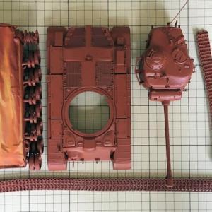 RC可動化 1/35 M26パーシング (再製作その7)
