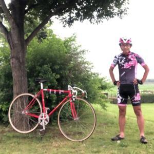 35年くらいぶりに自転車競技の大会参加します