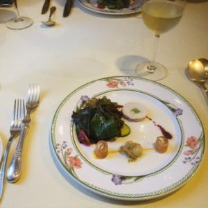 ポルトブランで2600円ディナー コース