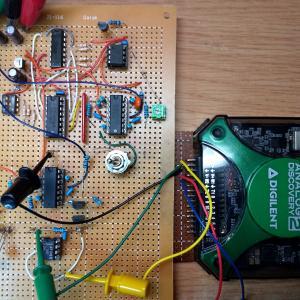 トランジスタカーブトレーサの実験(3)