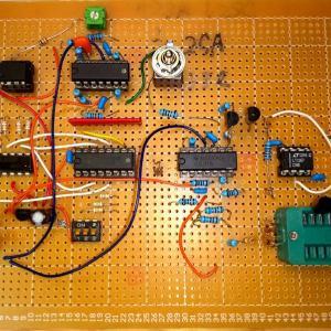 トランジスタカーブトレーサの実験(4)