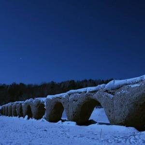氷点下32℃の世界【タウシュベツ川橋梁】