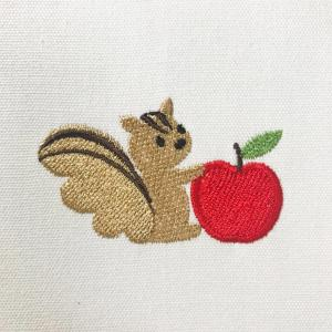 リスさん刺繍の続き・・・と、<E-刺繍工房>東京オフ会♡