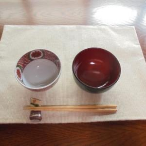 和食とランチョンマット