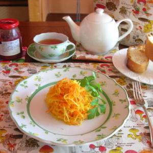 洋食とランチョンマット
