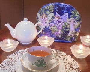 夜のお茶は妖精と共に