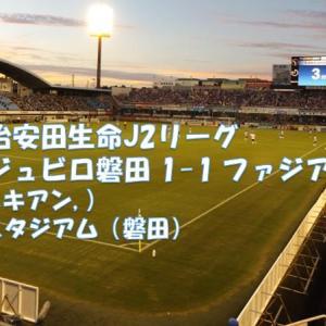 ルキアンの1ゴールのみ、岡山の牙城は崩しきれなかった...|磐田 1-1 岡山