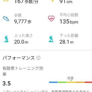 3月2日のジョギング