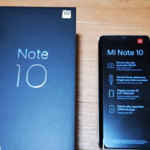 Xiaomi note10購入