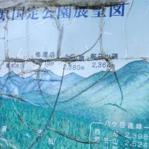 八ヶ岳の登山道はキツイなぁ(編笠山トレッキング)