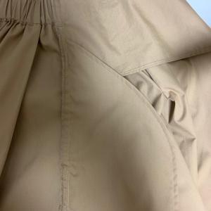 紙の上で考えてから、布で調整する