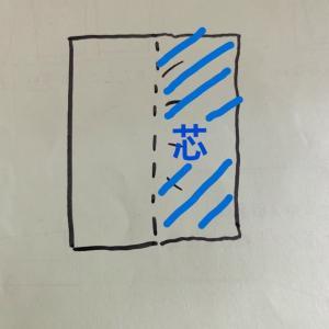 部分的に接着芯を貼りたい場合はどうする?