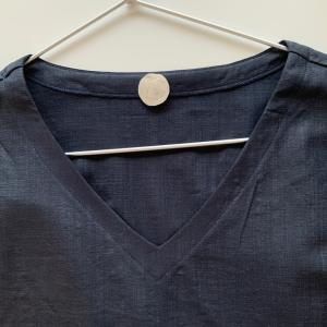 パターンは左右同じだけど、縫いの時は左右『違う』のです