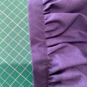 ギャザー袖1.5cmカフスをきれいに仕上げる方法