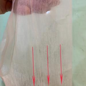 不織布接着芯の地の目と特徴