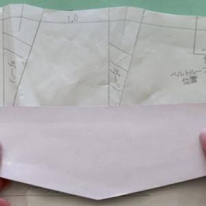 ポケット口のラインは直線のままだとどうなるか。