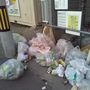 何故ポイ捨てするのか!自分の住んでいるゴミ集積場に捨てない者達がいる限り津市は綺麗にならない