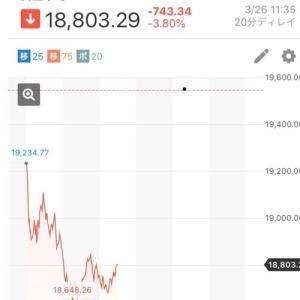 新型コロナウイルスが株式市場に与えている影響について