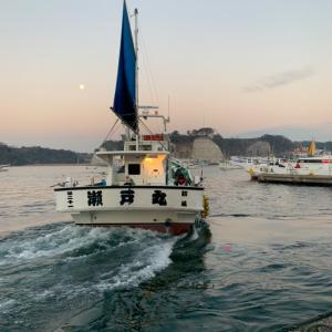 エース恒例!真冬のカワハギ釣り!in 松輪港 瀬戸丸