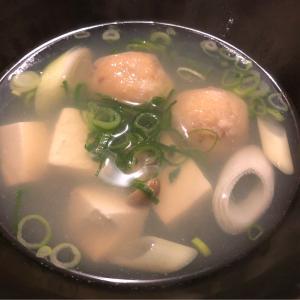 トビウオレシピ!つみれ汁で食いマッスル!!