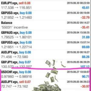 9月9日までの利息は~~%!FXでの投資はやはり違う!
