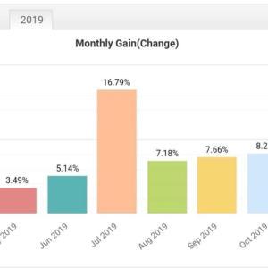 投資しているファンドの11月のパフォーマンスも好成績。