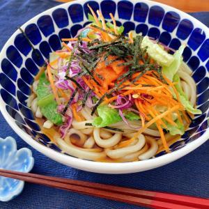 おすすめコストコ食材で作る、冷やし明太サラダうどん。