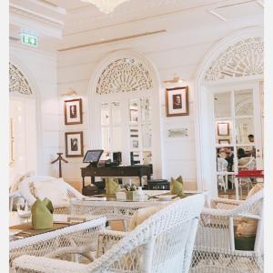 タイ バンコク旅行  オリエンタルホテルにて お茶を