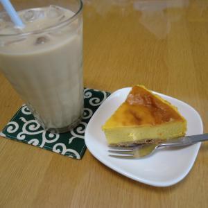 かぼちゃのチーズケーキ!