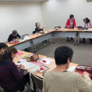 パッチワーク講習会(季節のミニキルト・冬)