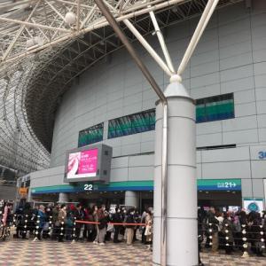 東京へ(東京国際キルトフェスティバル)