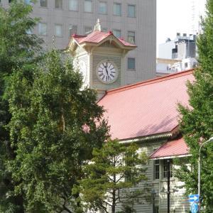 がっかり観光スポット?札幌時計台無料開放日と北海道知事公館のエゾリスさん