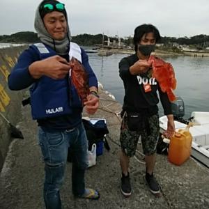 釣果報告!!。