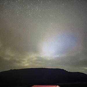 雲の中星など見えやしない