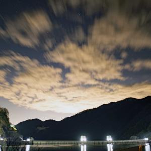 奥多摩湖の雲