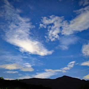 奥多摩の空