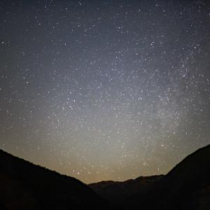 名栗湖の夜
