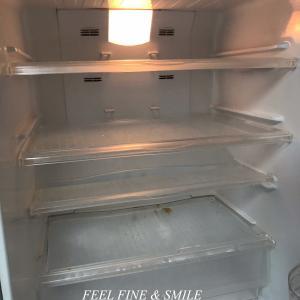 冷蔵庫がすっからかん