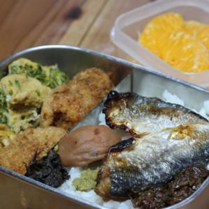 のっけ弁当ー4/21:山菜クリームコロッケと挑戦