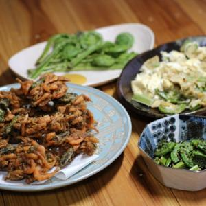 衣をつけすぎない天ぷらが最高に美味しいコゴミ