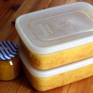 冷蔵庫の整理と、金柑の甘露煮を長期保存