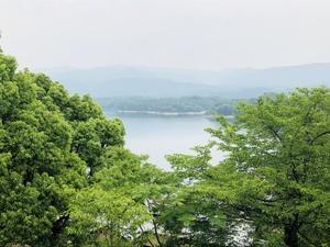 初夏の満濃池