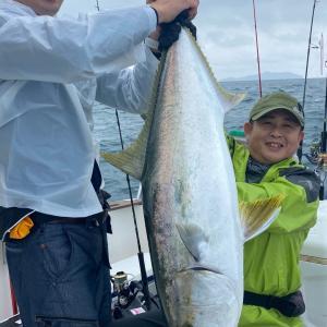 強風近場風裏釣行でも釣れる!