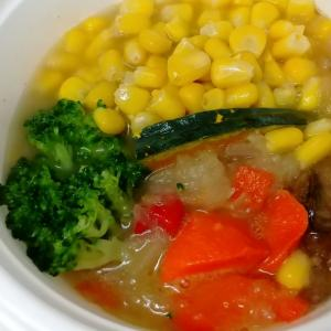 【ベジ活スープ食7日目】ミックス野菜