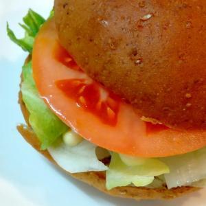 完全栄養食のパン「ベースフード」で作った簡単バーガー