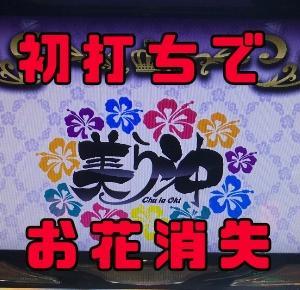 【美ら沖】今更初打ちで400ゾーン狙い!花が消えたっ!!