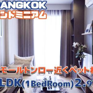 ペット飼育相談OK!1LDK【動画でカンタンバンコク部屋さがし】